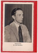 AK Photokarte Politik / Propaganda Reichsminister Dr. Josef Goebbels - Guerra 1939-45