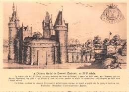 CPM - Le Château Féodal De BEERSEL (Brabant), Au XVIIe Siècle. - Beersel