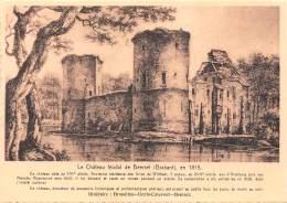 CPM - Le Château Féodal De BEERSEL (Brabant), En 1815. - Beersel