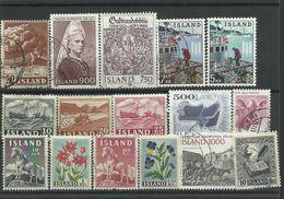 Iceland - Bulk Lot Of 16 Stamps - Pkt. 136 - Islande