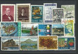 Iceland - Bulk Lot Of 15 Stamps - Pkt. 139 - Islande