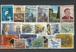 Iceland - Bulk Lot Of 18 Stamps - Pkt. 140 - Islande