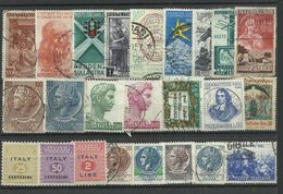 Italy - Bulk Lot Of 24 Stamps - Pkt. 160 - Italia