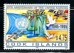 "Cook Islands     ""United Nations""      Set    SC#   11.95    MNH - Stamps"