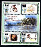 "Cook Islands     ""2000  Olympic Games Sydney""      Sheet Of 4     SC# 1237     MNH    SCV$ 9.00 - Summer 1996: Atlanta"