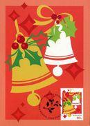 """Entier Postal De 2012 D'Australie Sur CP Avec Timbre Et Illust. """"Les Cloches De Noël"""" - Noël"""