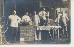 AK Feldküche M. Speisetafel - Guerra 1914-18
