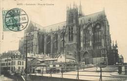 """/ CPA FRANCE 57 """"Metz, Cathédrale, Place De Chambre"""" - Metz"""
