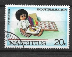MAURITIUS   1987 Industrialisation USED - Mauritius (1968-...)