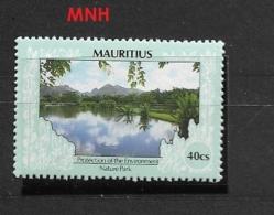 MAURITIUS  1989 Environmental Protection NATURE PARK     MNH - Maurice (1968-...)