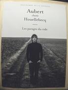 PROGRAMME De La Tournée : AUBERT Chante HOUELLEBECQ - 2014 - Plakate & Poster