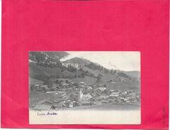 LEYSIN - SUISSE - CPA DOS SIMPLE -  Vue Générale De La Ville - BORD1512 - - VD Vaud