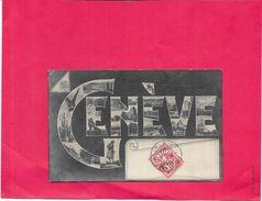 GENEVE - SUISSE - MULTI-VUES - BORD1512 - - GE Genève