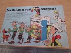 Page De Revue Des Années 60/70 : PUBLICITE FIGURINES DALTON LUCKY LUKE FLAN IMPERIAL Format : 1/2 Page A4 - Other