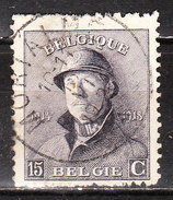 169  Roi Albert Casqué - Oblit. Centrale MORIALME - LOOK!!!! - 1919-1920 Trench Helmet
