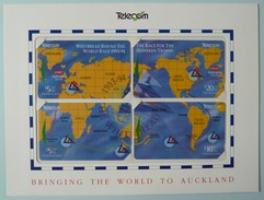 NEW ZEALAND - Whitbread Round The World Race 1993-94 - Puzzle - Set Of 4 - GPT - Mint Sealed In Folder - New Zealand