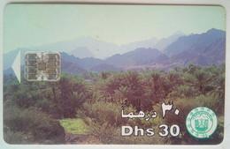 30 Dhs Mountains - United Arab Emirates