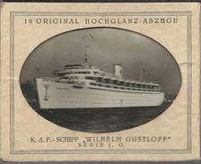 12  Original Hochglanz Abzuge - Schiff Wilhelm Gustroff - Germany