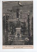 INAUGURATION DU MONUMENT D'IRAIS (79) - 28 DECEMBRE 1924 - Argenton Chateau