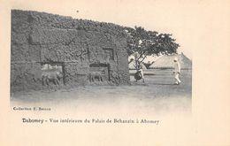 DAHOMEY   ABOMEY  VUE INTERIEURE DU PALAIS DE BEHANZIN - Dahomey