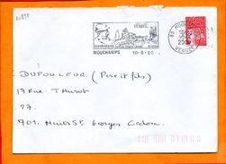 VENDEE, Mouchamps, Flamme SCOTEM N° 10891 - Storia Postale