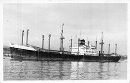 "Carte Photo   Paquebot "" Abbekerk "" Vereenigde Nederlandsche Scheepvaart Maats 1946 Chester - Paquebote"