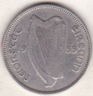 IRELAND. 1 SHILLING 1935. ARGENT - Irlande