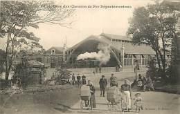 SAINT BRIEUC LA GARE DES CHEMINS DE FER DEPARTEMENTAUX - Saint-Brieuc