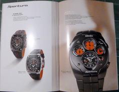 SEIKO CATALOGUE DE MONTRES LUXUEUX 16 PAGES ILLUSTREES DE NOMBREUX MODELES 2006 PAPIER GLACE - Watches: Modern
