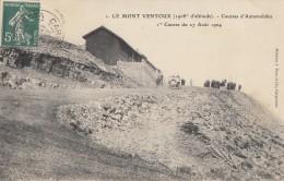 CPA - Le Mont Ventoux - Courses Automobiles - 1ére Course Du 27 Août 1904 - France