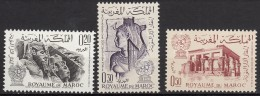Du N° 461 Au N° 463 Du Maroc - X X -  ( E 20 ) - UNESCO
