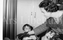 Postcard / ROYALTY / Belgique / Reine Fabiola / Koningin Fabiola / Hôpital Brugmann / 1963 - Santé, Hôpitaux
