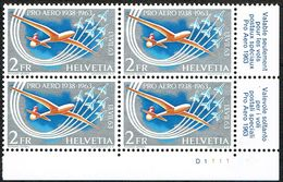 ** PRO AERO BLOC DE 4 TIMBRES DE COLLECTIONS NEUFS 1963 C/.S.B.K. Nr:F46. Y&TELLIER Nr:45. MICHEL Nr:780. ** - Unused Stamps