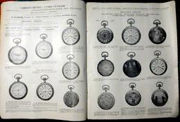 BESANCON BIJOUX OR ARGENT ORFEVRERIE CATALOGUE GLORIOD MONTRES CHRONOMETRE MENAGERE CHEVALIERE MEDAILLES VERS 1900 - Bijoux & Horlogerie