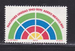MEXIQUE AERIENS N°  311 ** MNH Neuf Sans Charnière, TB  (D3591) ONU - México