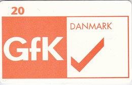 Denmark, P 213, Gfk, Mint, Only 800 Issued, 2 Scans. - Denmark