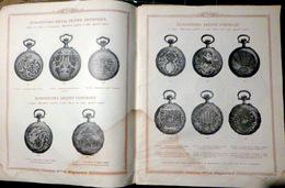 BESANCON BIJOUX OR ARGENT ORFEVRERIE CATALOGUE PETOLAT  MONTRES CHRONOMETRE MENAGERE CHEVALIERE MEDAILLES 80 PAGES  1924 - Bijoux & Horlogerie