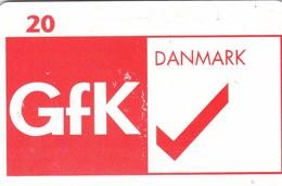 Denmark, P 213B, GfK Danmark, 20 Kr, Only 1100 Issued. - Denmark