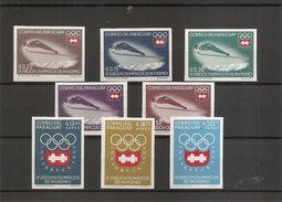 JO D'hiver De Innsbruck -1964 (1257/1264 XXX -MNH- Du Paraguay) - Inverno1964: Innsbruck
