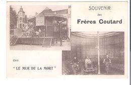 CP   CIRQUE   LES FRERES COUTARD     Le Mur De La Mort - Cirque