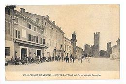 Villafranca Di VERONA - Caffé FANTONI Sul Corso Vittorio Emanuele -   - L 1 - Verona