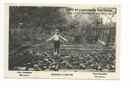 CP, Agriculture, Cultures, Publicité Effets De L'Ammonitre Sur Choux Chez M Lustig à Strasbourg Neudorf 67 - Cultures