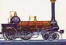 CPM - L - LOCOMOTIVE JAXT 2B - EINGESETZT VON DER WURTTEMBERGISCHEN STAATSBAHN - BAUJAHR 1845 - NORRIS PHILADELPHIA - Treni