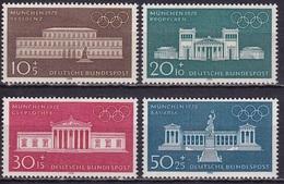 BRD 1970 Olympische Sommerspiele 1972 München Kompletter Satz Michel 624 / 627 Falzlos - [7] West-Duitsland