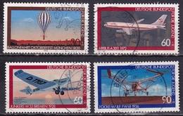 BRD 1979 Jugend Luftfahrt  Kompletter Satz Michel 1005 / 1008 - Gebruikt