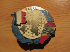 Force Intérimaire Des Nations Unies Au Liban (FINUL - UNIFIL) - Insignes & Rubans