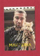 Marteria ( Deutscher Rapper,) - Persönlich Signiert - Autographes