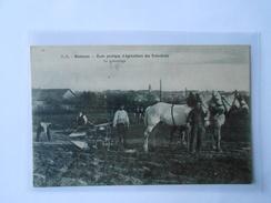 CPA DANDO BERRY RENNES Ecole Pratique D'Agriculture Des Trois-Croix Le Labourage - Rennes