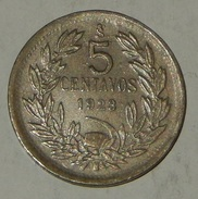 CILE – CHILE – 5 CENTAVOS – 1923 – (33) - Chile