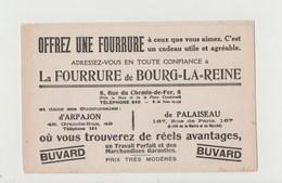 BUVARD La FOURRURE De BOURG-LA-REINE - Textile & Clothing